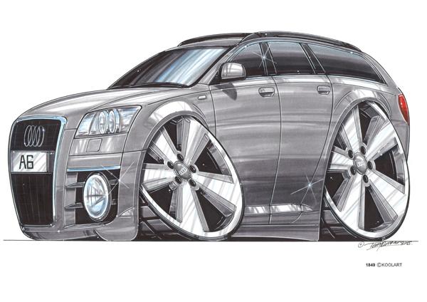Audi A6 Grise Break