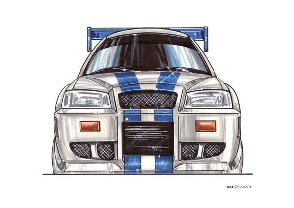 Nissan Skyline F&F Face