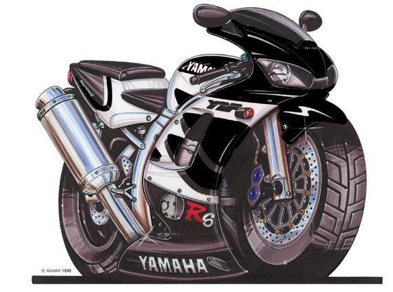 Yamaha R6 Noire