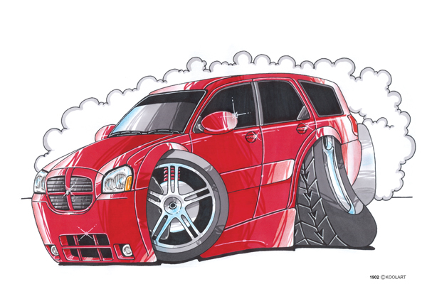 Dodge Magnum Rouge