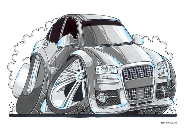 Audi S8 Grise