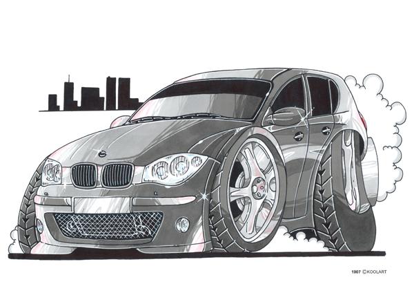 BMW Serie 1 City Grise