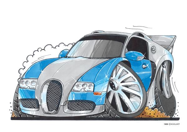 Bugatti Veyron Grise