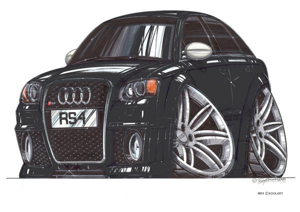 Audi RS4 Noire
