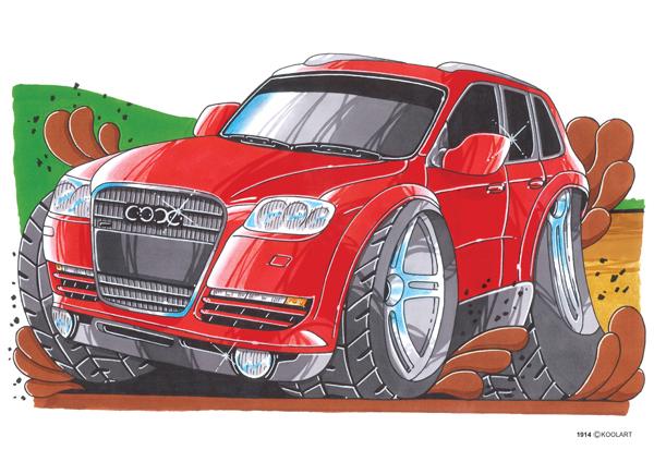 Audi Q7 4X4 Rouge