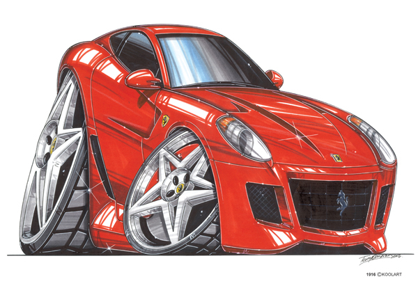 Ferrari 599 GTR Rouge