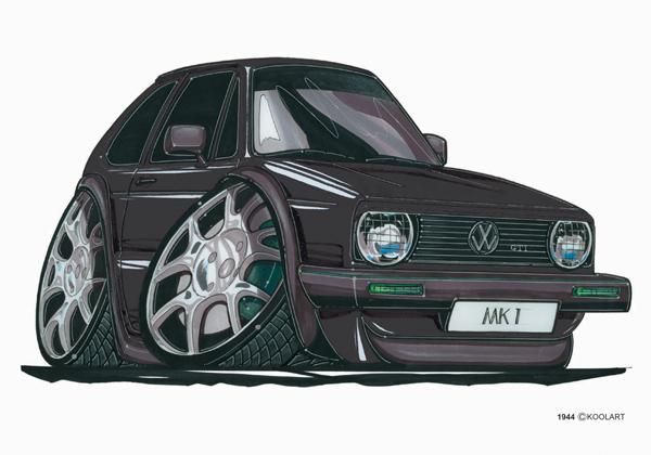 Volkswagen Golf GTI Noire