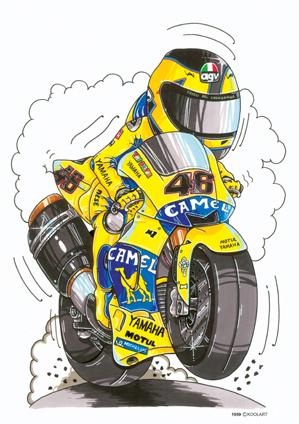 Yamaha YZR Rossi