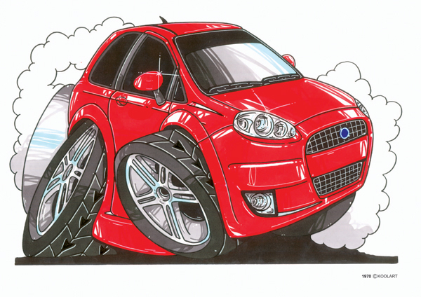 Fiat Punto Rouge