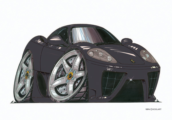 Ferrari Maranello Noire