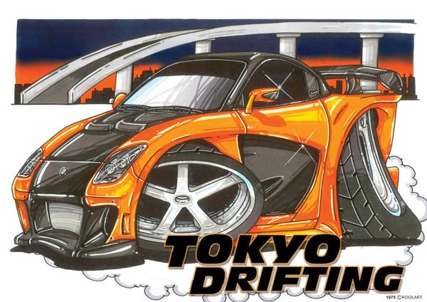 Mazda RX7 Tokyo Drift