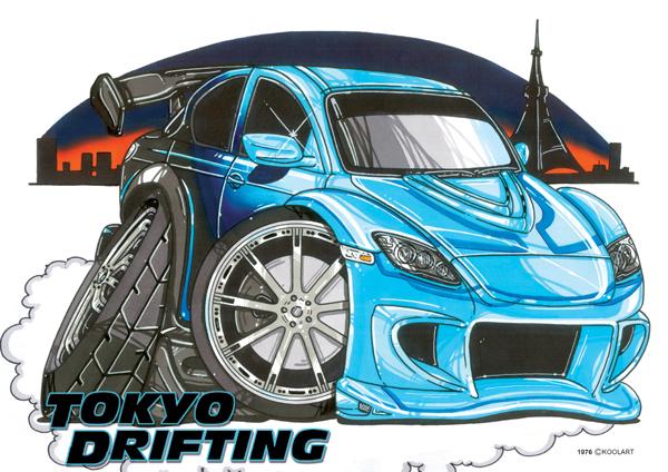 Mazda RX8 Tokyo Drift