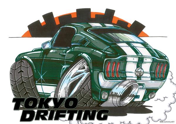 Mustang Fastback Tokyo Drift