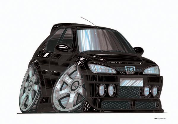 Peugeot 306 Noire