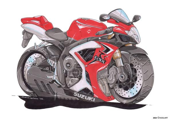 Suzuki GSXR Rouge