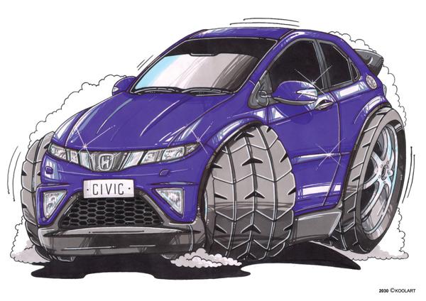 Honda Civic Violette