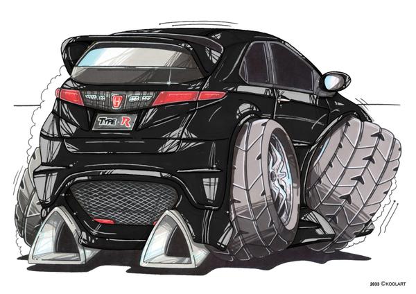 Honda Civic Type R Noire