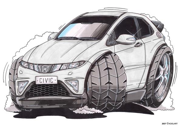 Honda Civic Blanche
