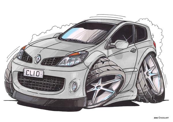 Renault Clio 3 Grise