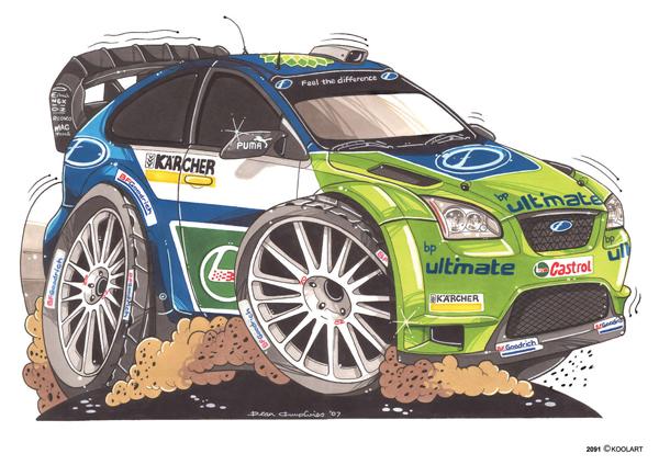 Ford Focus Rallye