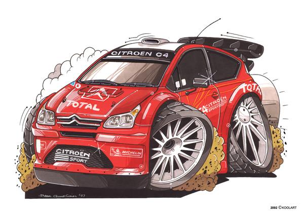 Citroen C4 Rallye Rouge