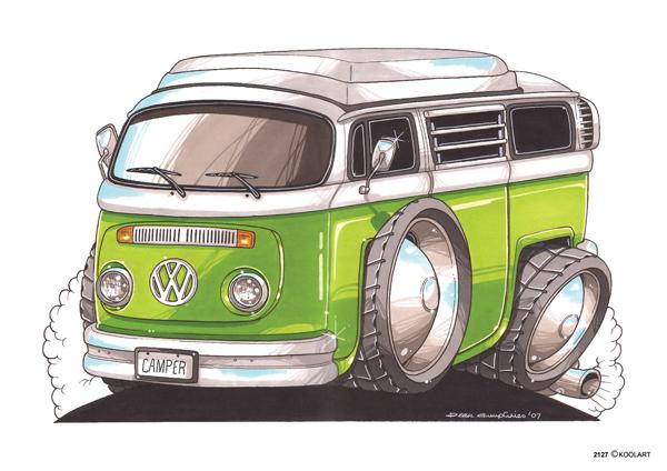 Volkswagen Combi Vert