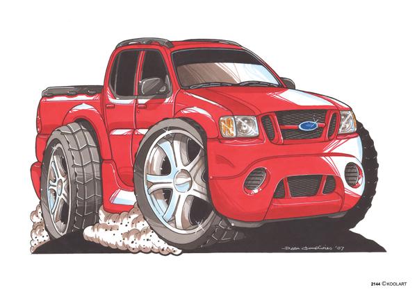 Ford Explorer Sport Rouge