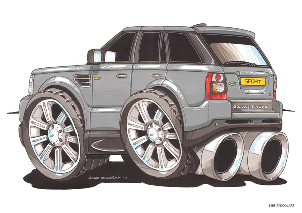 Range Rover Sport Gris