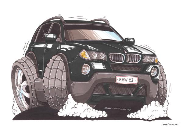 BMW X3 Noir