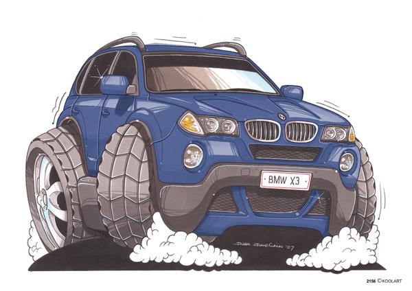 BMW X3 Bleu