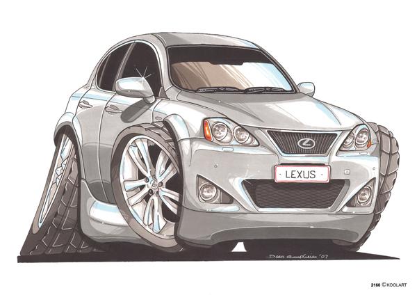 Lexus IS250 Grise