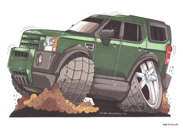 Land Rover Discovery Vert