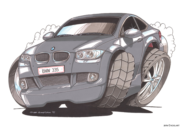 BMW Serie 3 Grise