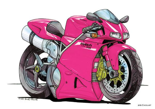 Ducati 998 Rose