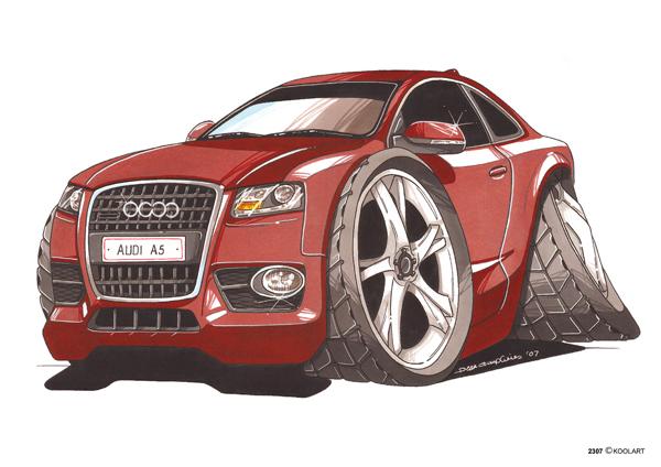 Audi A5 Rouge