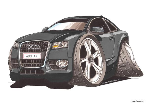 Audi A5 Noire