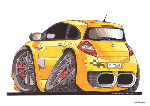 Renault Megane Sport Jaune