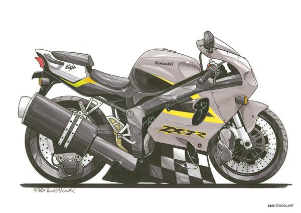Kawasaki ZX7R Ninja