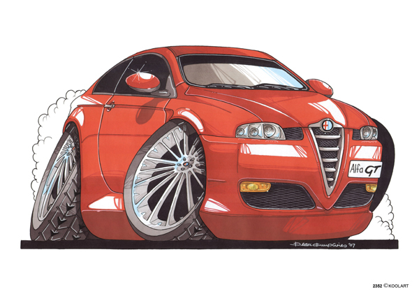 Alfa Roméo GT Rouge