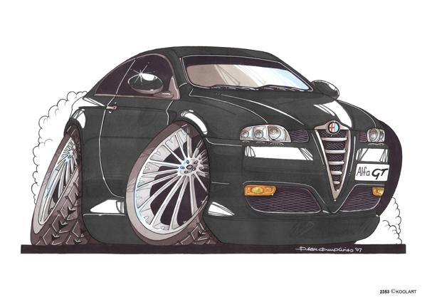 Alfa Roméo GT Noire