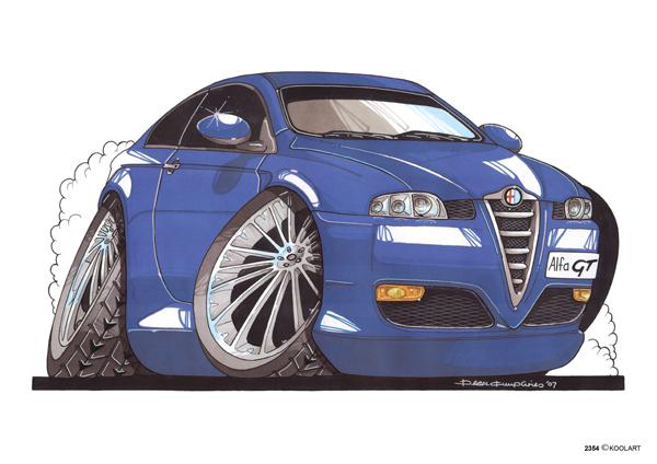 Alfa Roméo GT Bleue