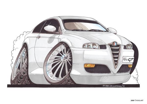 Alfa Roméo GT Blanche