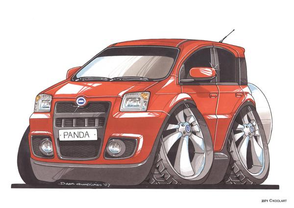 Fiat Panda Rouge