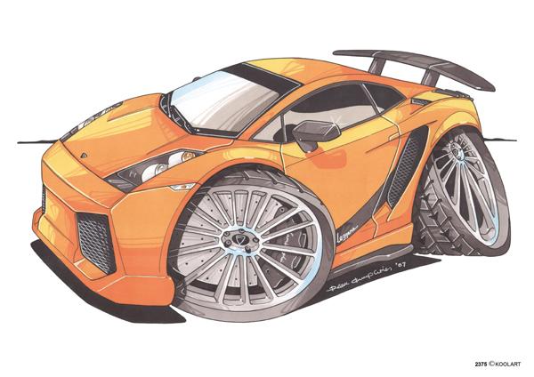 Lamborghini Superleggera Orange