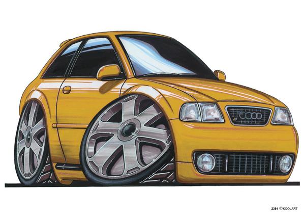 Audi A3 Jaune
