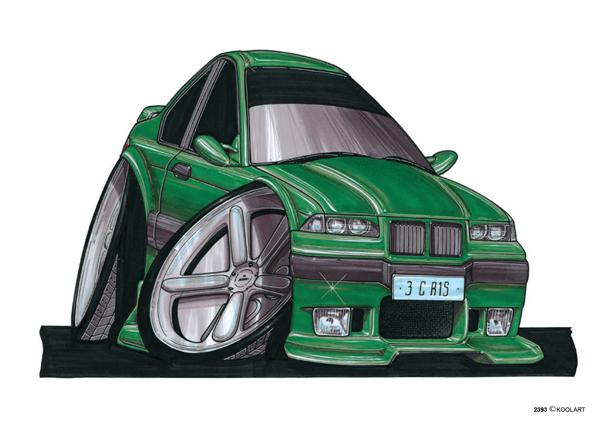 BMW E36 Verte