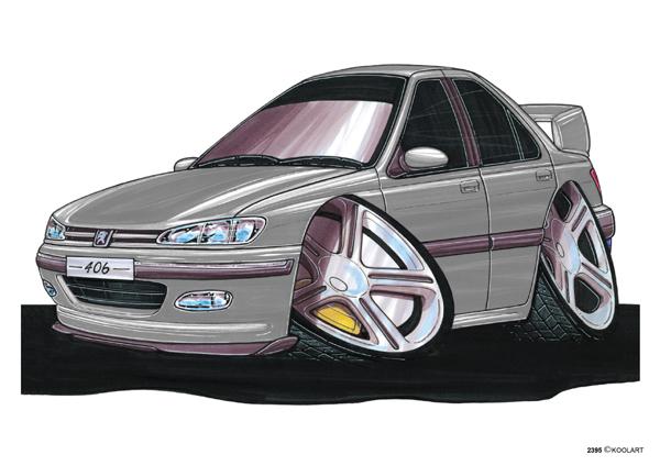 Peugeot 406 Grise