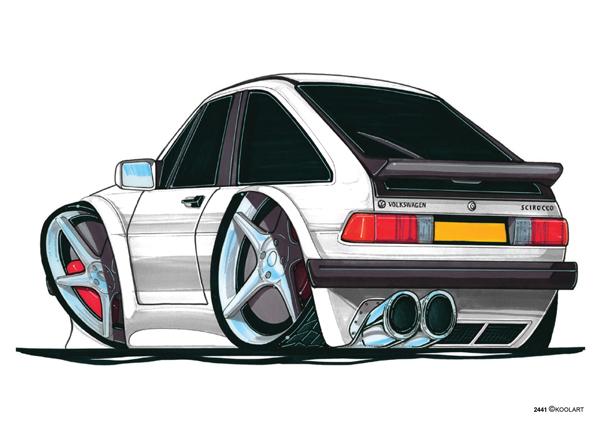 Volkswagen Scirroco Blanche