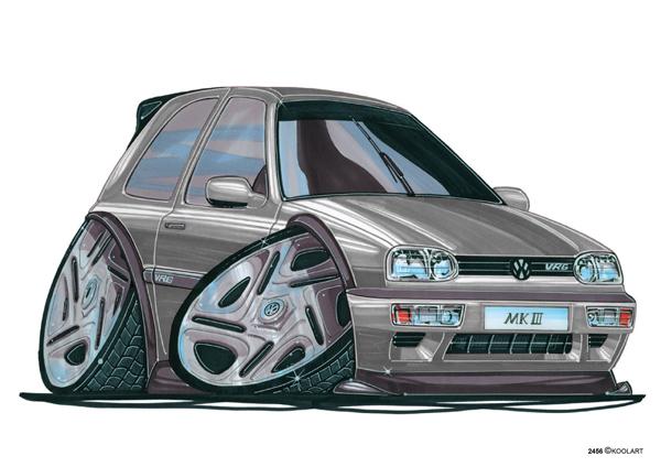 Volkswagen Golf VRG Grise