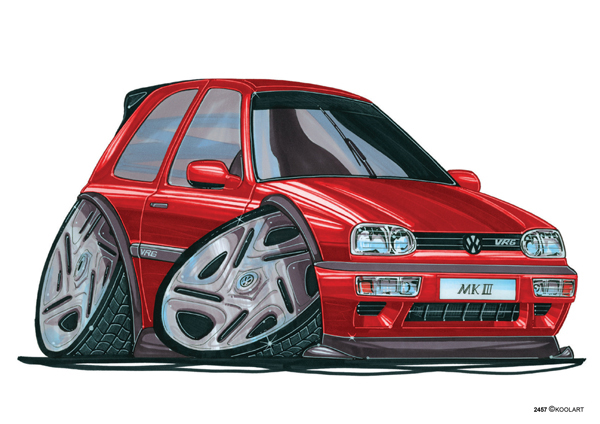 Volkswagen Golf VRG Rouge